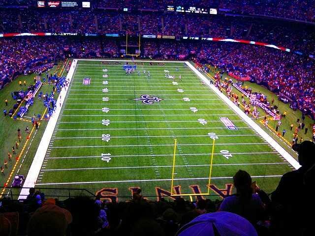 No. 3 -- New Orleans Saints fans