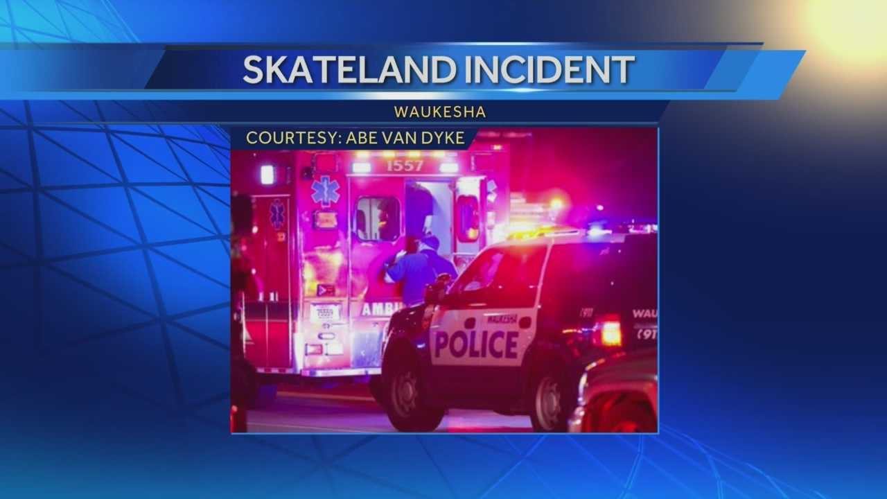 A child was injured and woman was seriously injured after an altercation in the parking lot of Skateland in Waukesha