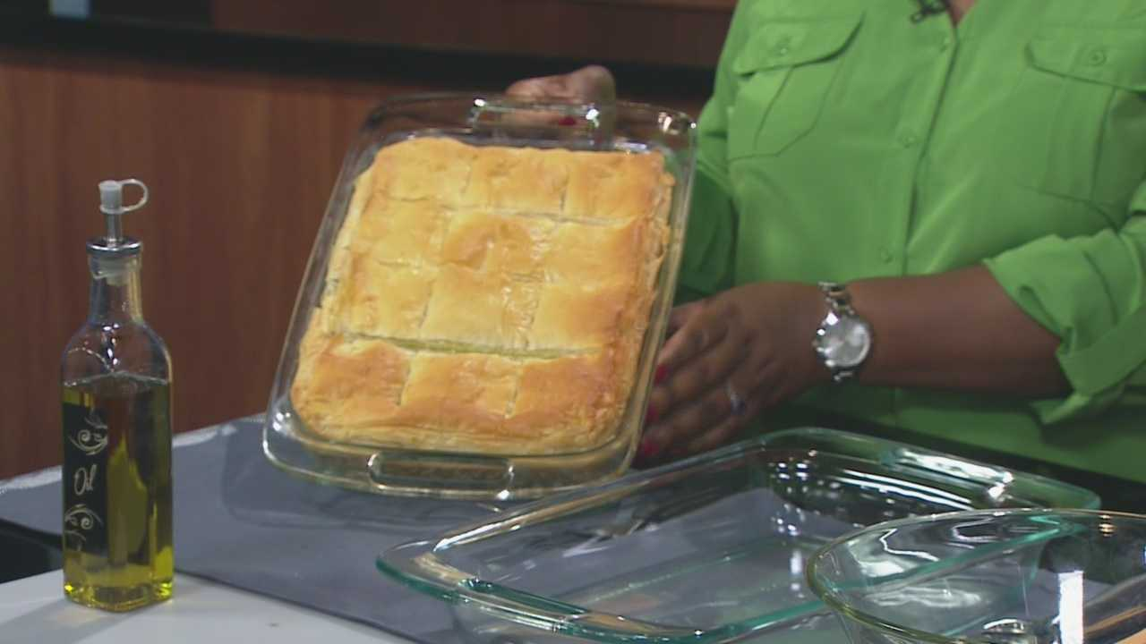 Chef Helen Tselentis of Cosmos Cafe shows us one of her favorite recipes.