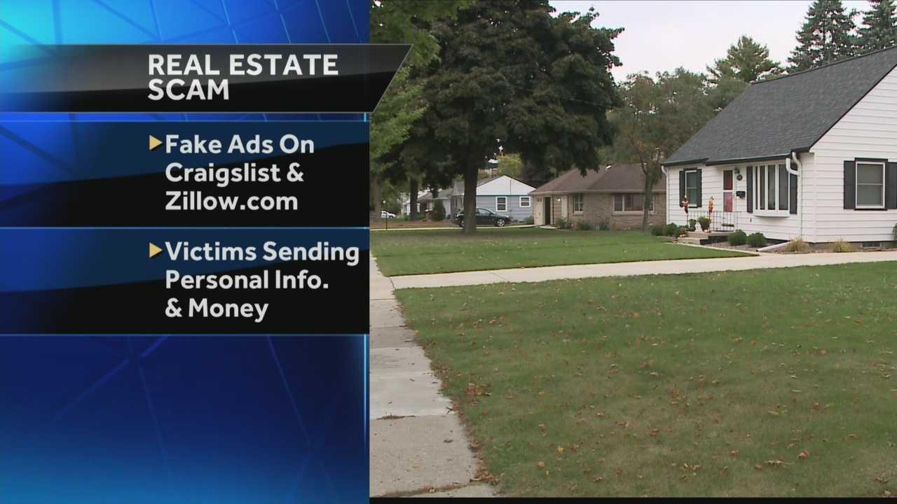 Police say criminals are posting fake rental listings.