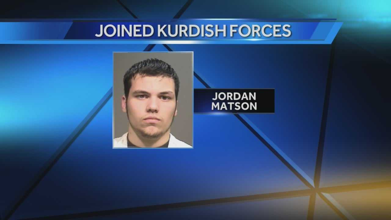 A Racine native says he has joined Kurdish forces in fighting against the Islamic State.  His family confirmed to WISN 12 News that Jordan Matson is in Syria.