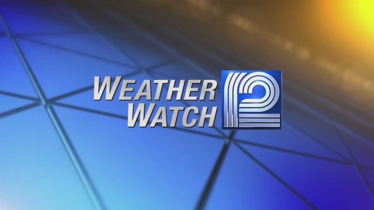 Weather Watch 12 Meteorologist Sally Severson has your Monday Morning Forecast.