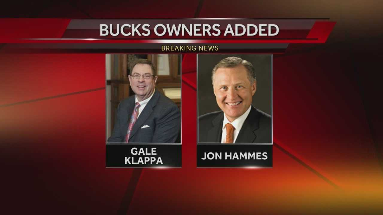 The Milwaukee Bucks say a group of philanthropists along with two individual investors are joining the ownership team.