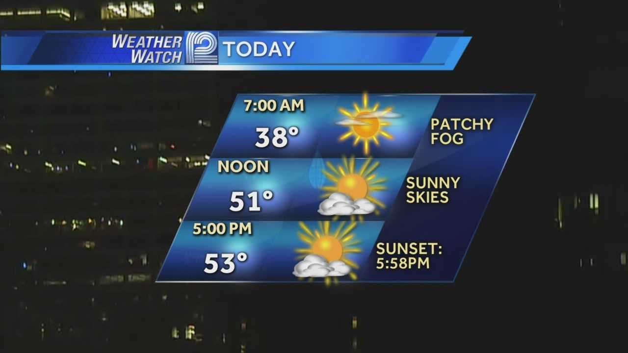 Temperatures dipped to the 20s in many locations, but Wednesday marks the start of a little warmup for Wisconsin