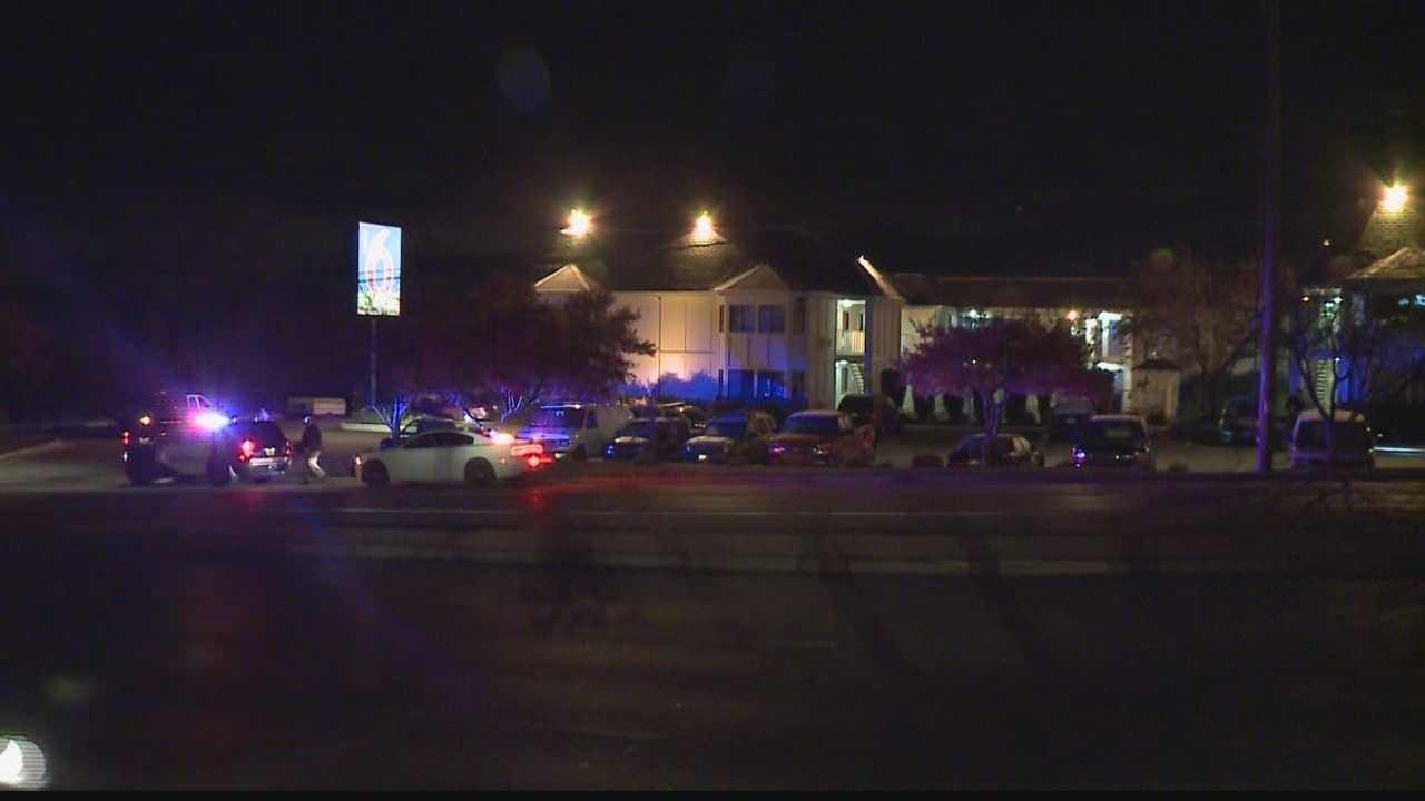 Officers responded to a report of shots fired near the Motel 6 in the Town of Brookfield.