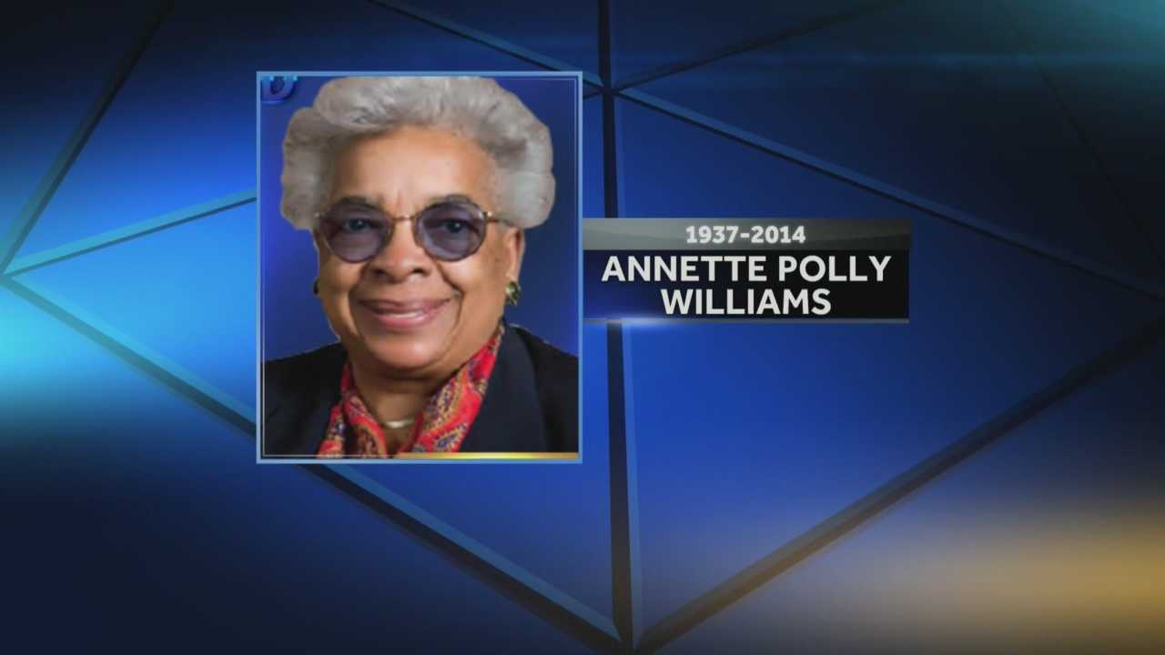 Annette Polly Williams was considered a top advocate for underprivileged children.