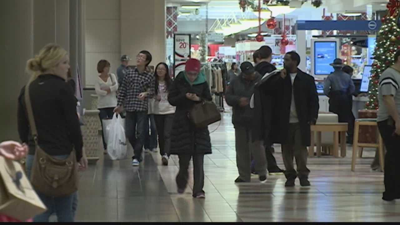 Black Friday shopping began at Mayfair Mall at 6 a.m. on Black Friday.