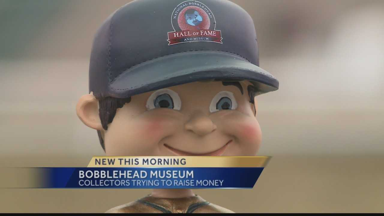 A Milwaukee area man is hoping to turn thousands of bobblehead dolls into a national museum.. .in Milwaukee! He's launched a Kickstarter campaign to help raise funds for the project.