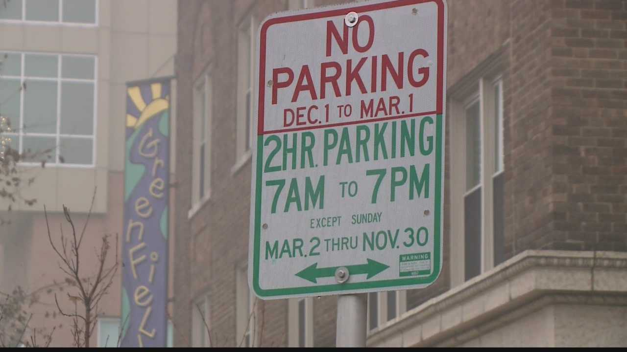 Alderman speaking out about new winter parking rules on the East side of Milwaukee.