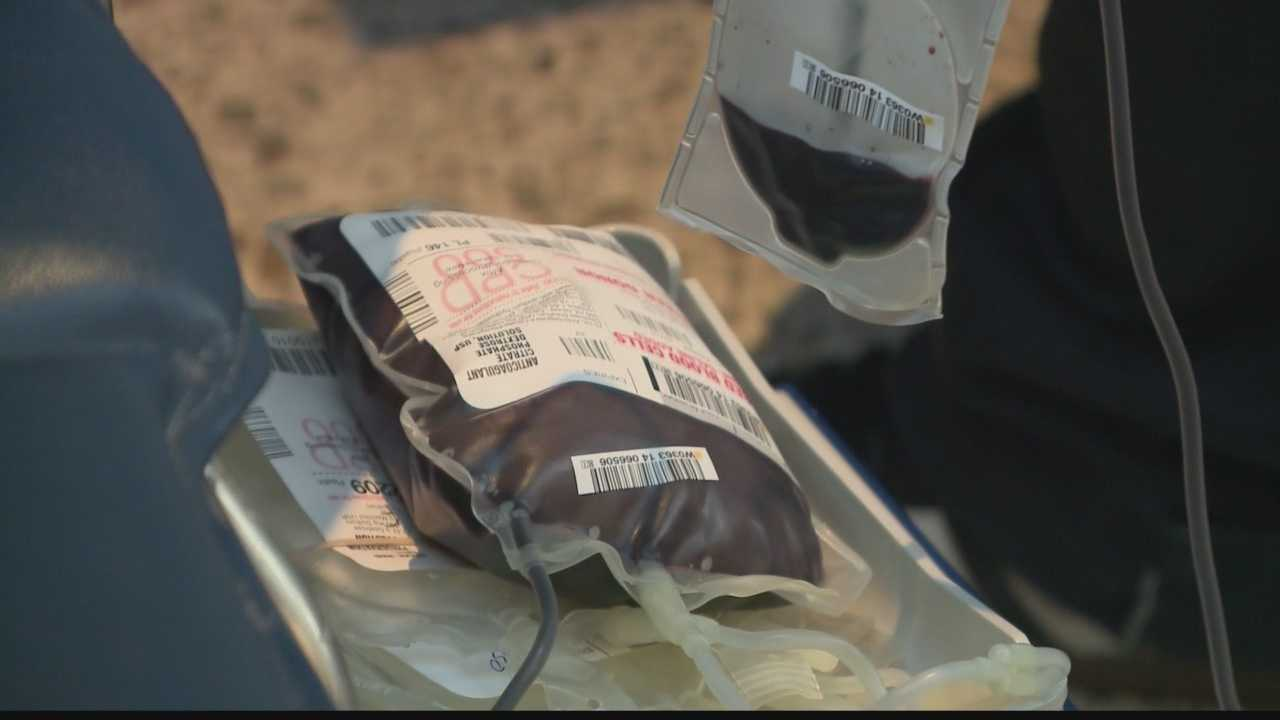 The Blood Center of Wisconsin's annual blood drive kicked off Monday at the Milwaukee County Zoo.