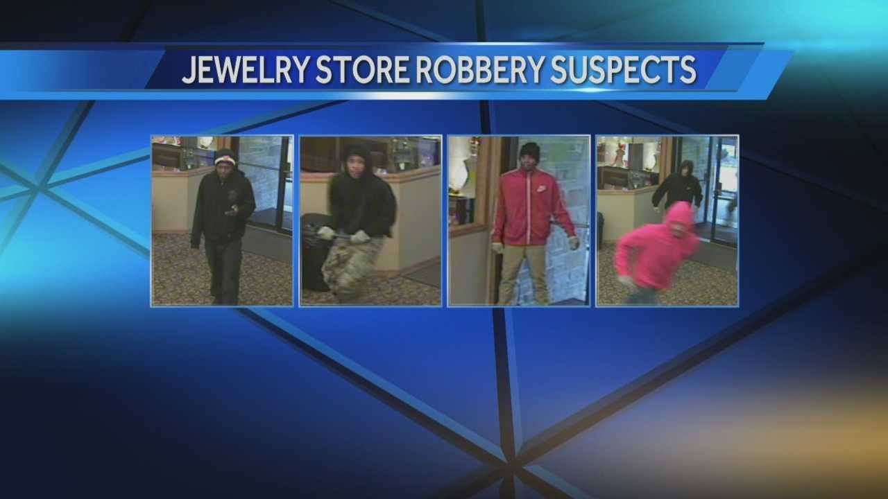 West Bend police are asking for help in finding a group responsible for a robbery at Husars House of Fine Diamonds