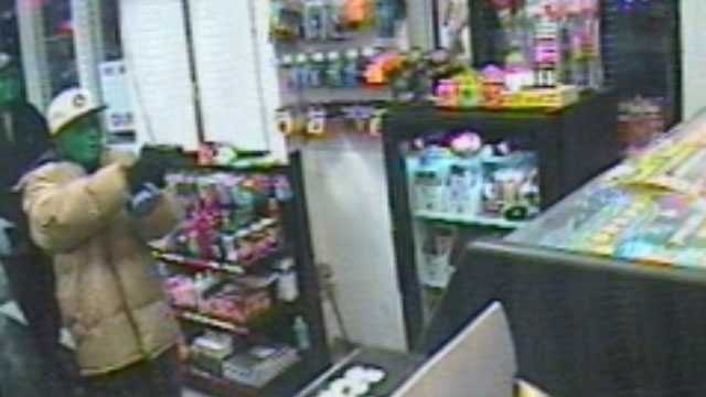 Two gunmen wearing green masks robbed a Citgo station in Waukesha, shooting and killing the clerk.