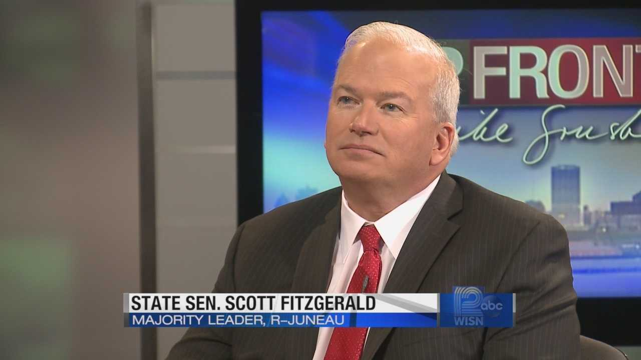 Republican Senate Majority Leader Scott Fitzgerald discusses the Senate school accountability bill.