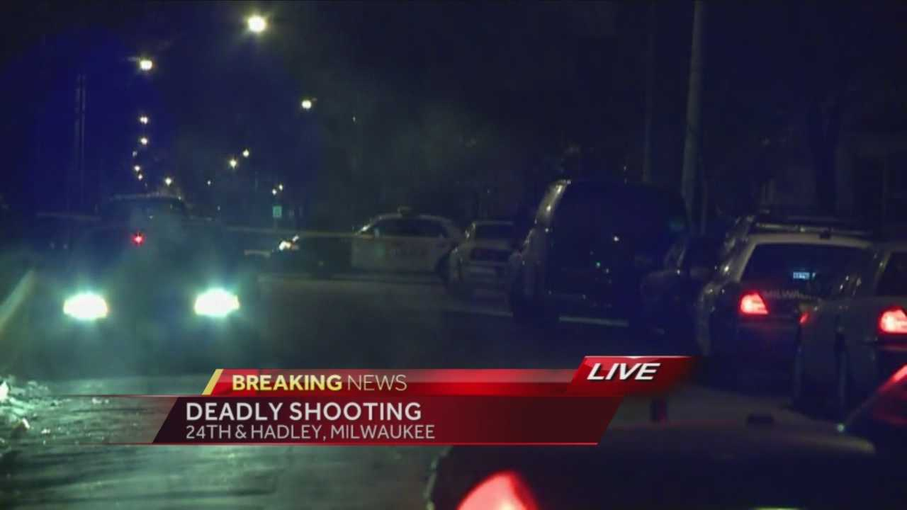 Milwaukee police are investigating a fatal early-morning shooting near 24th Pl. & Hadley St.