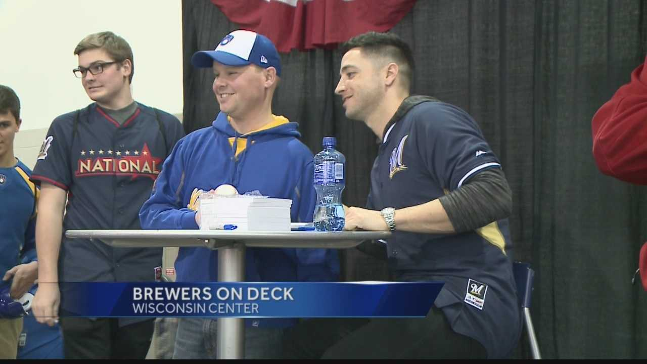 Thousands of fans come out to support the Milwaukee Brewers at their annual event