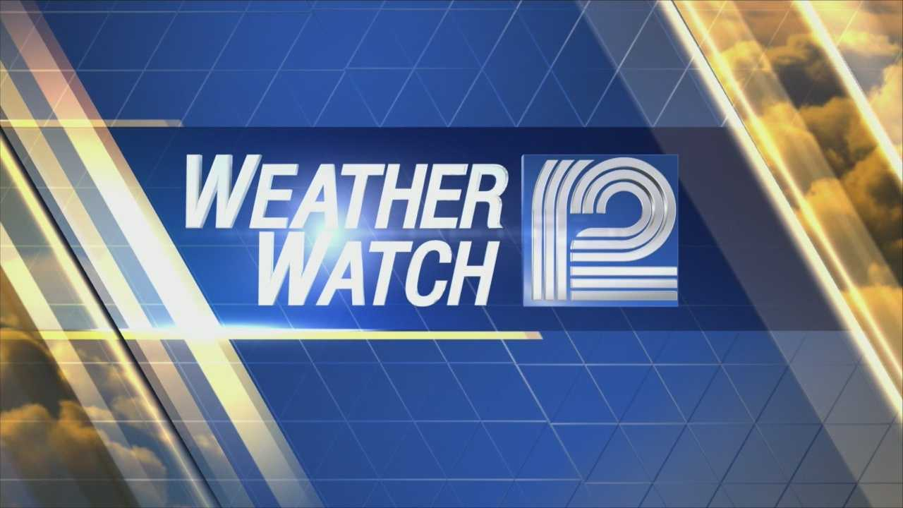 Weather Watch 12 Meteorologist Sally Severson has your Wednesday Forecast.