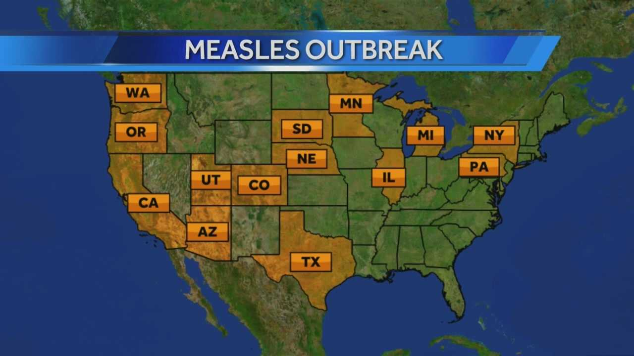 Local daycares are taking action following a measles outbreak just across the border in Illinois