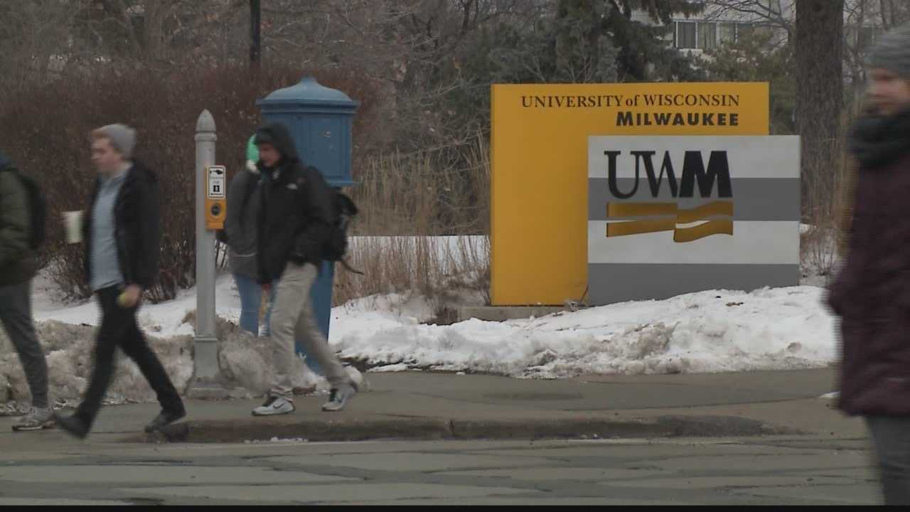 UWM's Chancellor Mark Mone talked to legislators about his concerns over proposed UW budget cuts