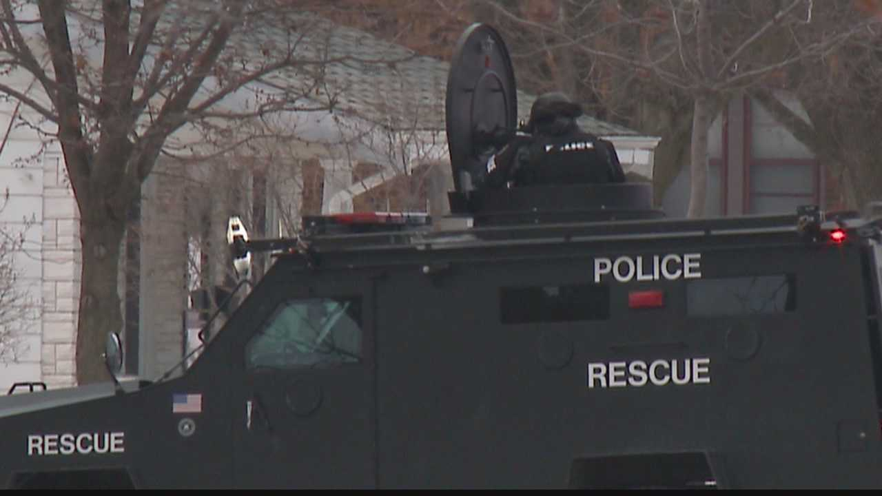 Police and SWAT team were at the home in Cudahy for five hours.