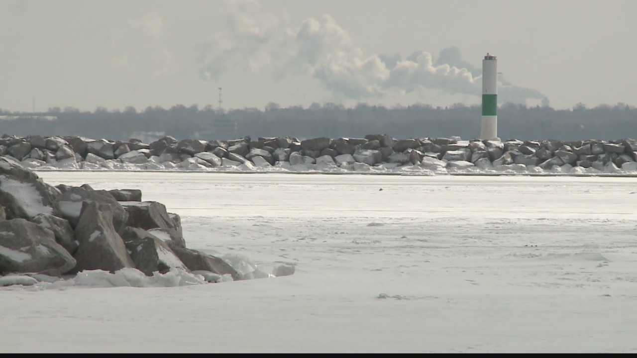 As the ice builds on Lake Michigan, it will take more time to melt and delay a warm spring/summer