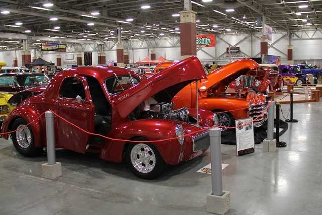 The World of Wheels auto show is held at Wisconsin State Fair Park.