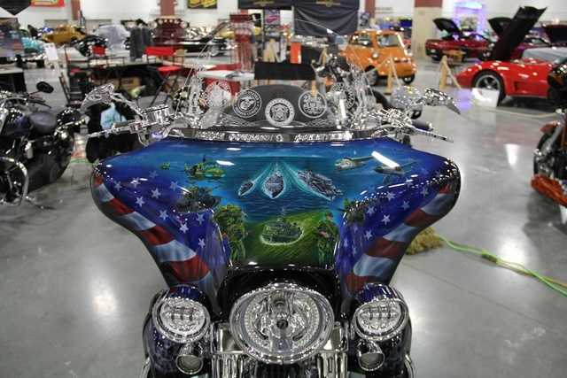 Vietnam tribute motorcycle