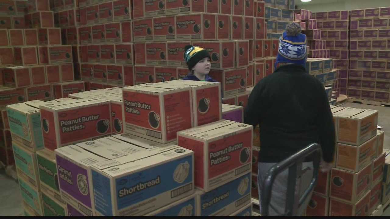 More than 2.4 million boxes of cookies will be distributed across Southeast Wisconsin