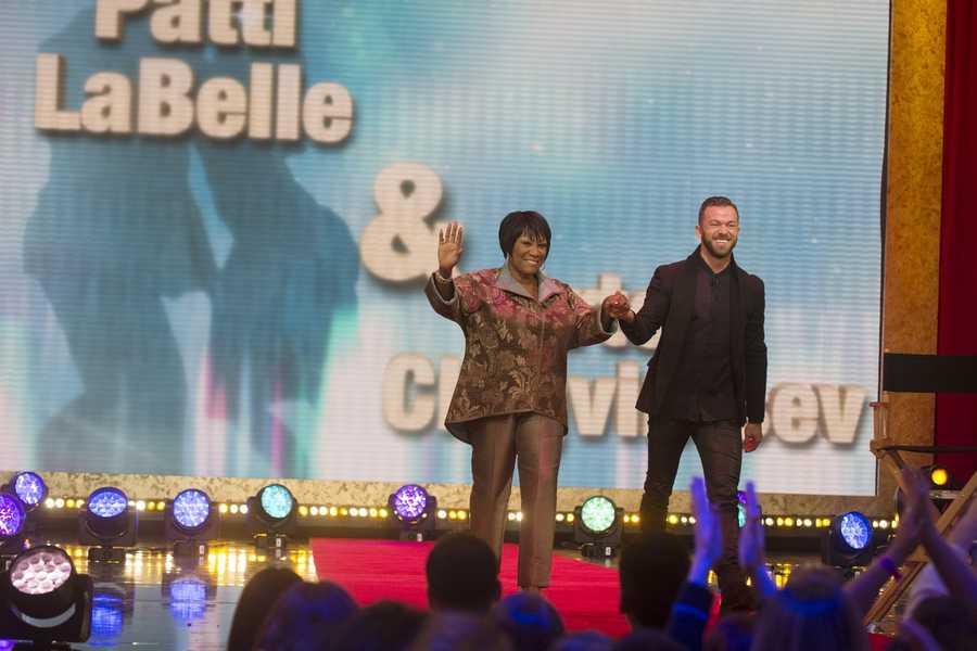 Grammy-winning singer Patti LaBelleis partnered with Artem Chigvintsev