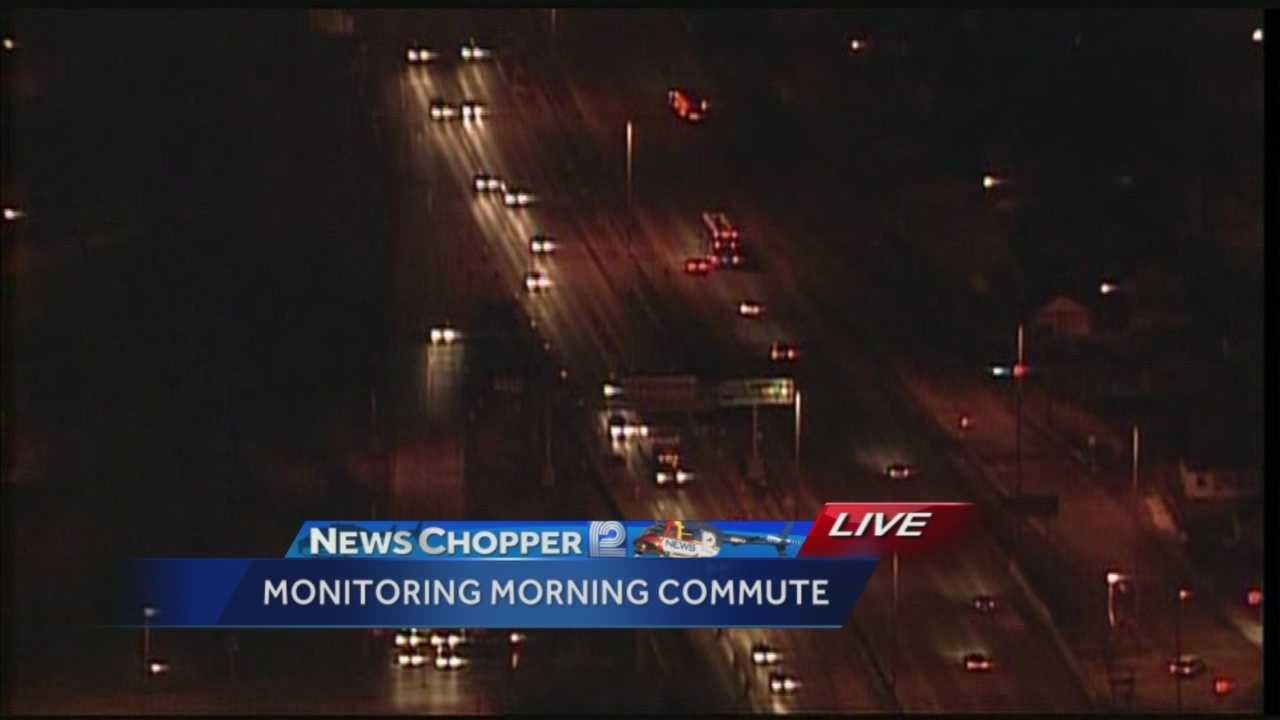 "Overnight, the Wisconsin Department of Transportation switched the ""zipper"" merge on I-94 near State Fair Park. Matt Salemme shows the change from News Chopper 12."