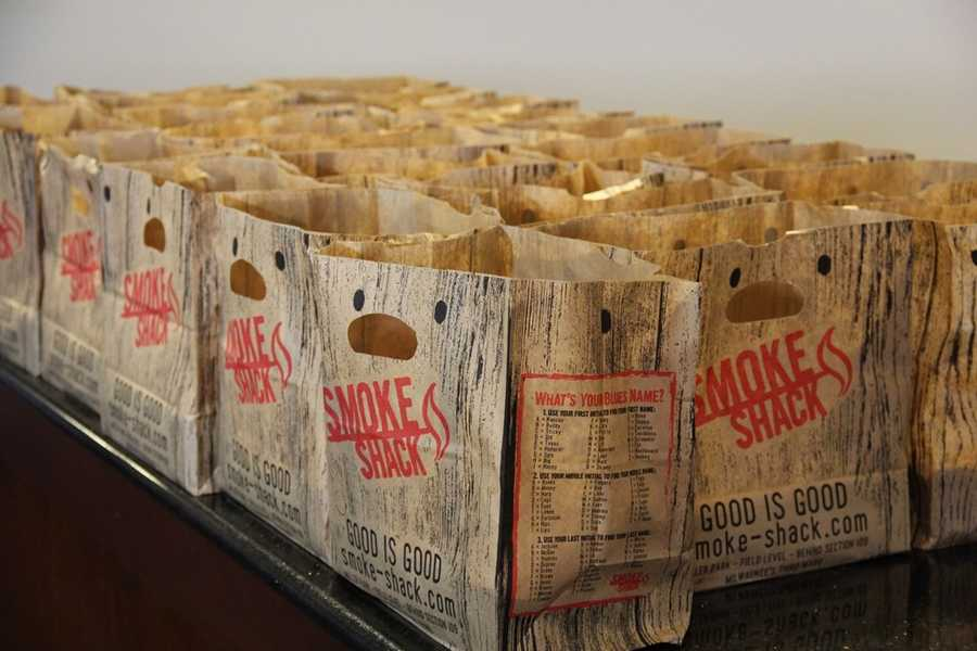 The Smoke Shack is also new at the ballpark this year.