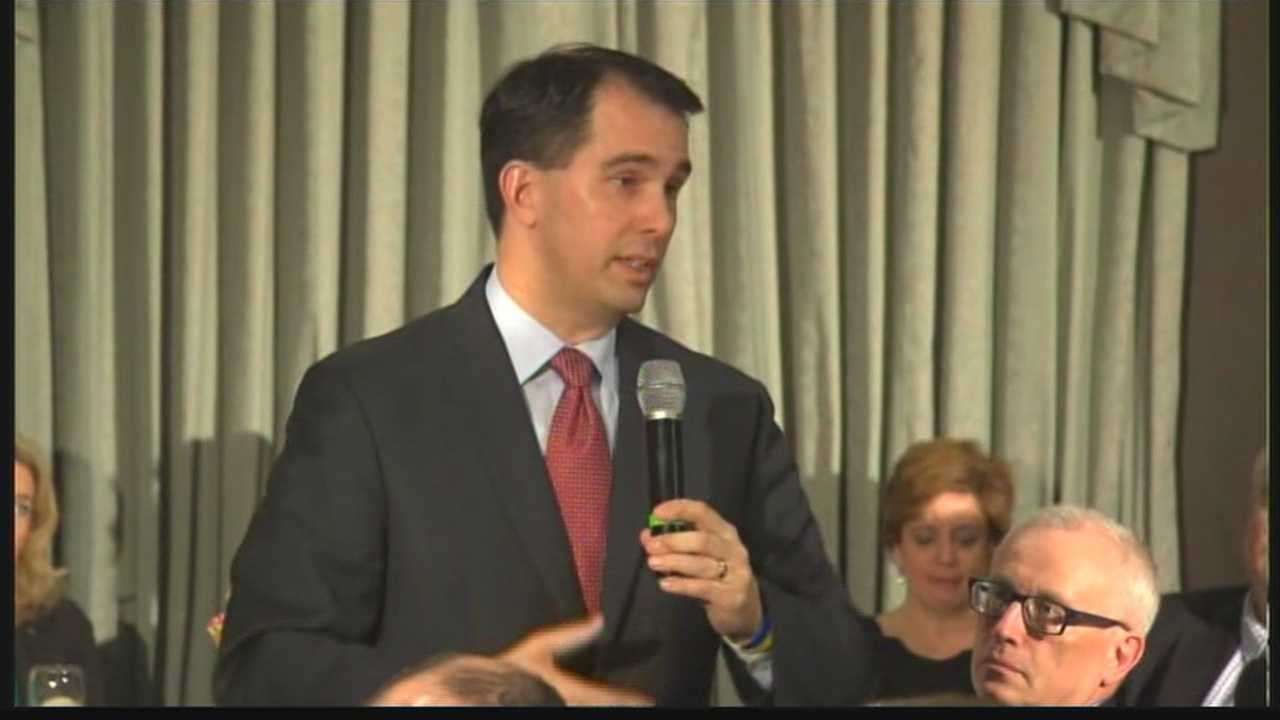 WISN 12 News Political Reporter Kent Wainscott will have a full report on Governor Walker's visit Sunday.