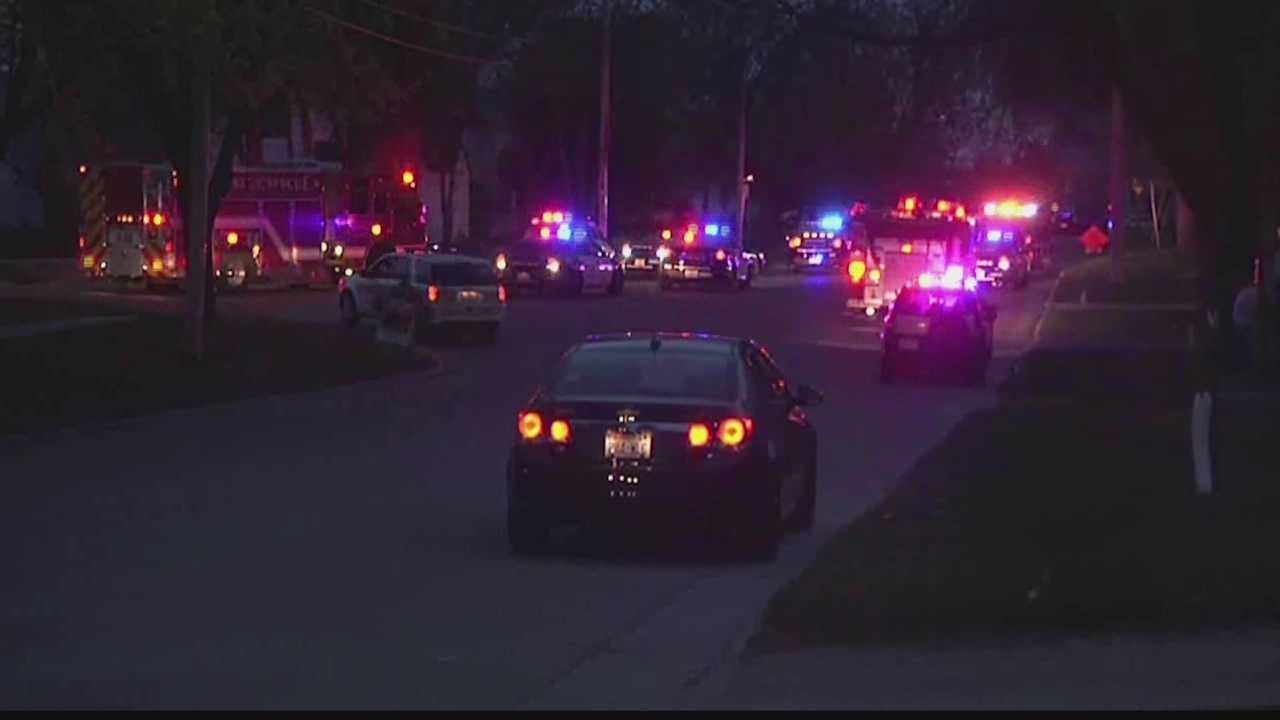 Police released the calls made shortly after a man open fired on pedestrians in a Menasha park