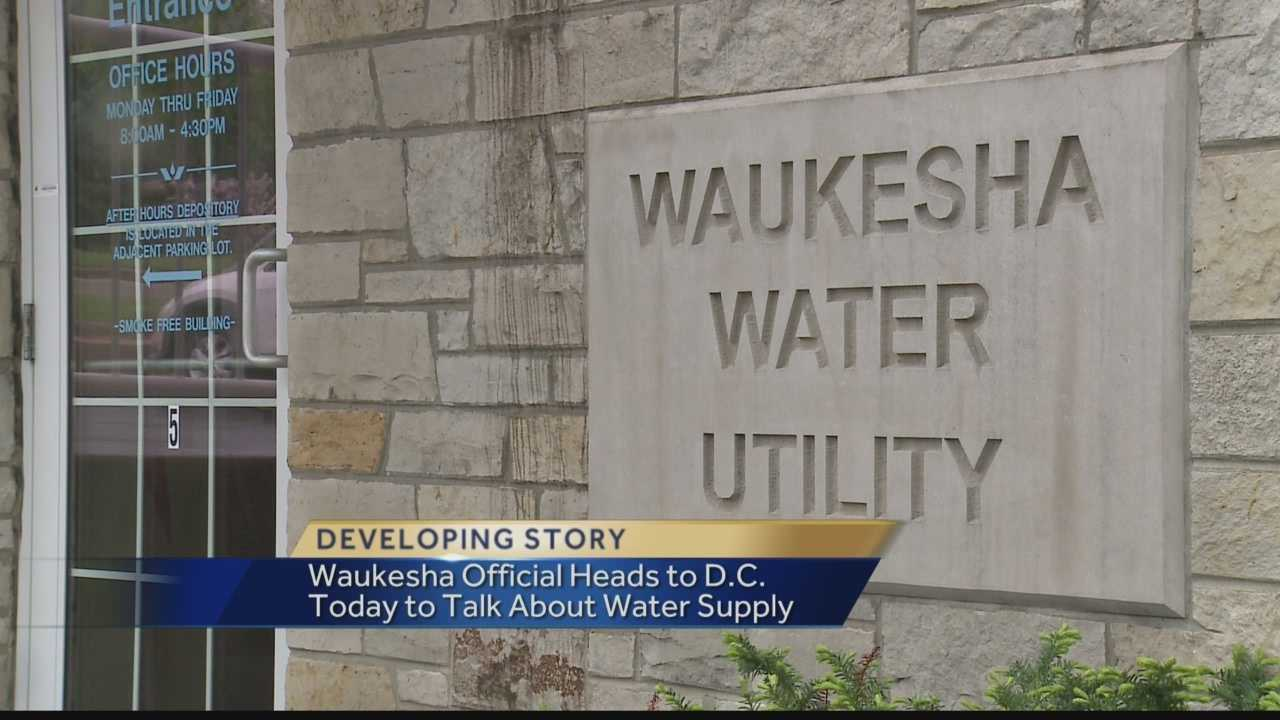 The effort to bring Lake Michigan water to Waukesha heads to Washington DC.