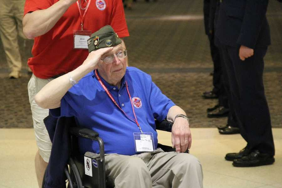 Many WWII vets were physically and financially able to travel to Washington D.C. on their own to see the memorial built in their honor.