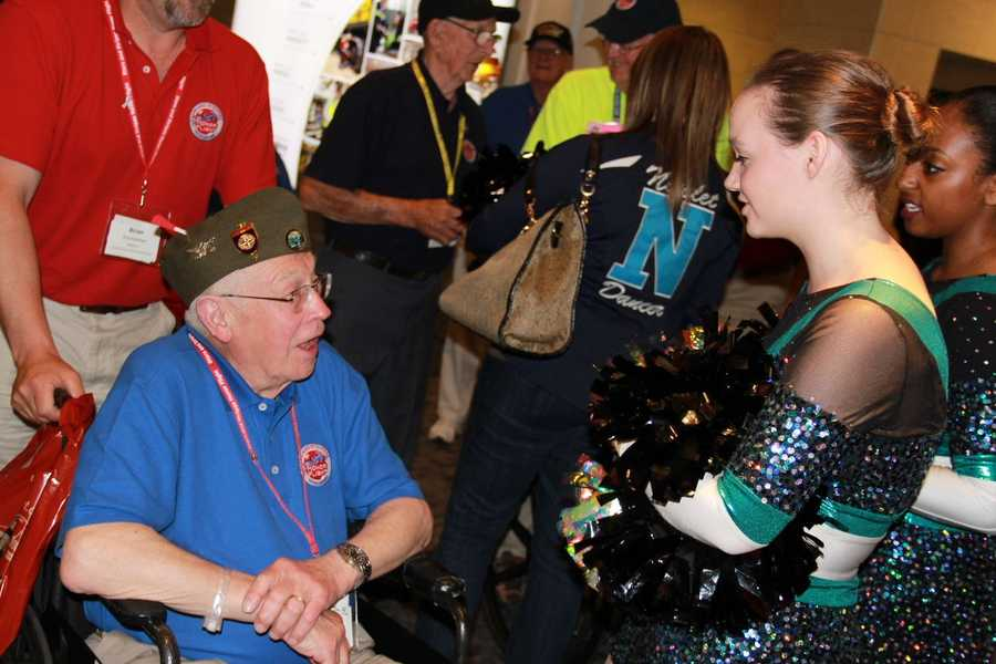 SSHF mission is to fly WWII and Korean vets to Washington D.C. to see the memorials built in their honor.