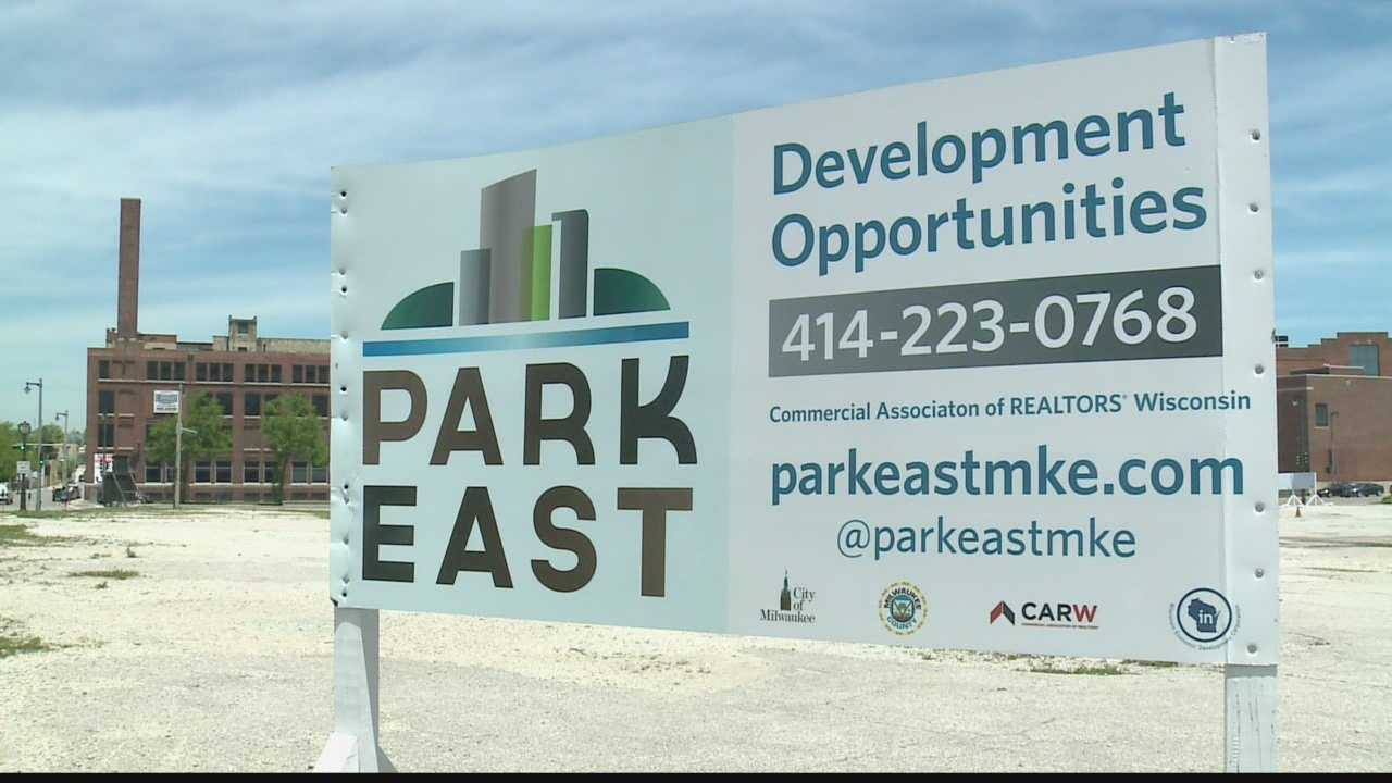 Park East The plan for Park East land is to develop it as a vibrant part of Milwaukee's downtown