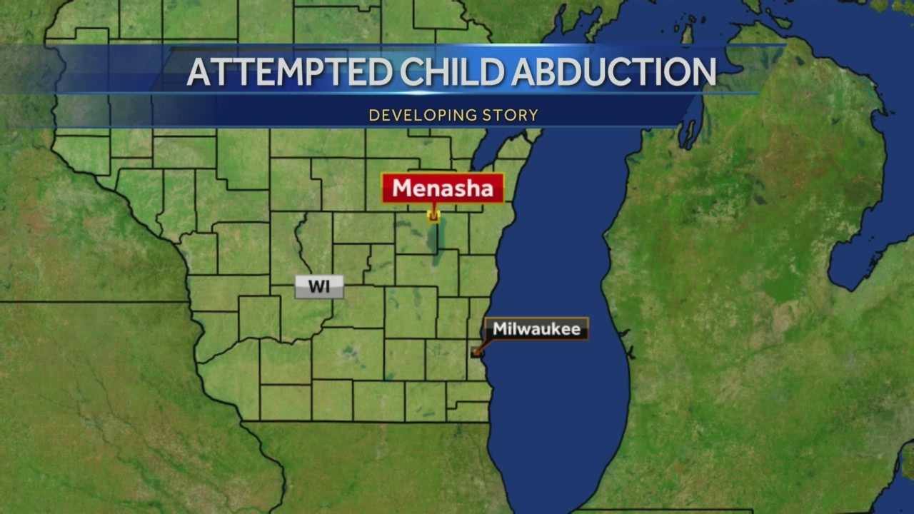 Police put out a statewide alert after a man driving an SUV with Illinois license plates tried to abduct a 12-year-old boy in Menasha.