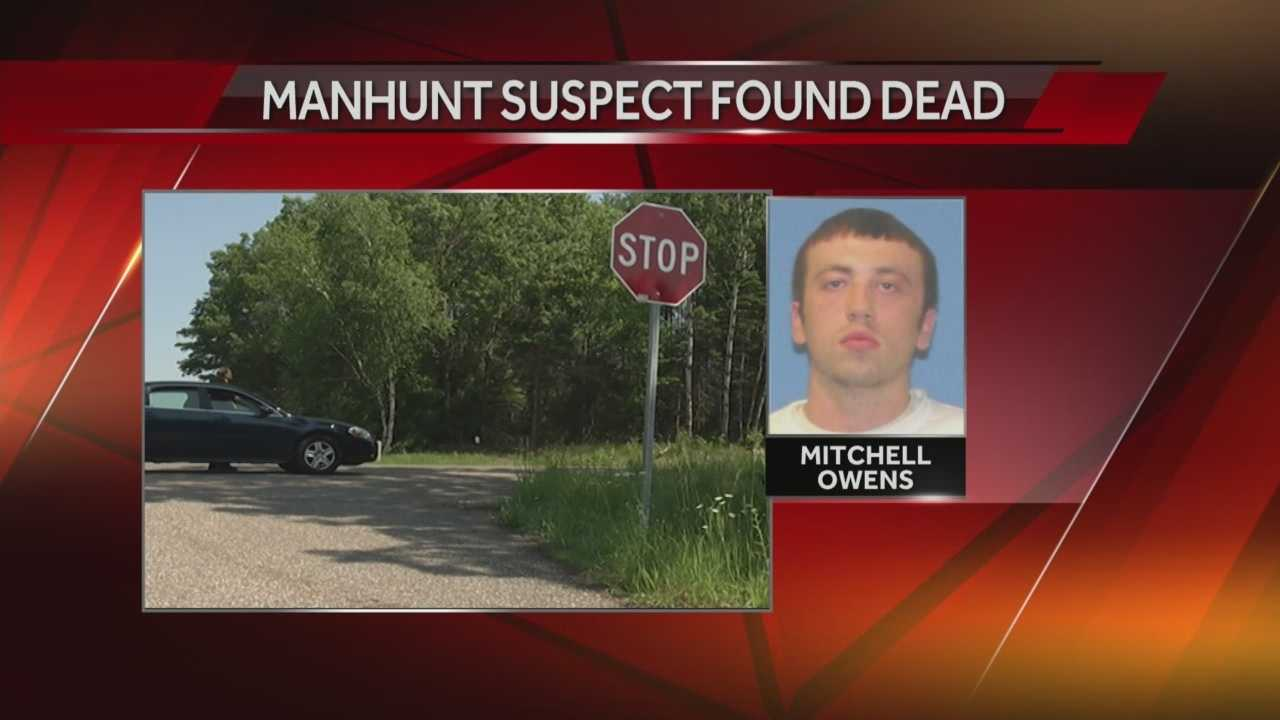 Police say Mitchell Owens grabbed a Mukwonago Walmart employee at  gunpoint, and the woman escaped at a gas station in Eau Claire. Meanwhile, following a police chase through the town of Seymour, Owens crashed his car and ran off into a wooded area where police later found him dead.
