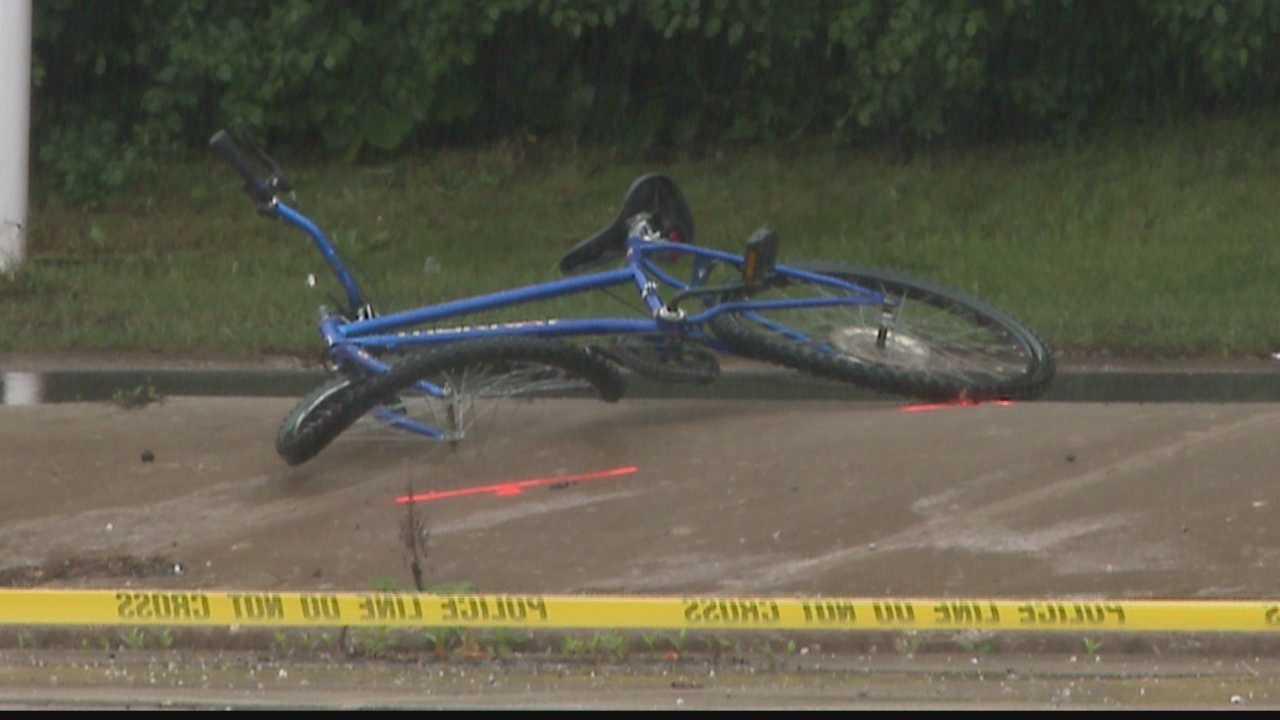 12 year old boy riding his bike against traffic struck by a car