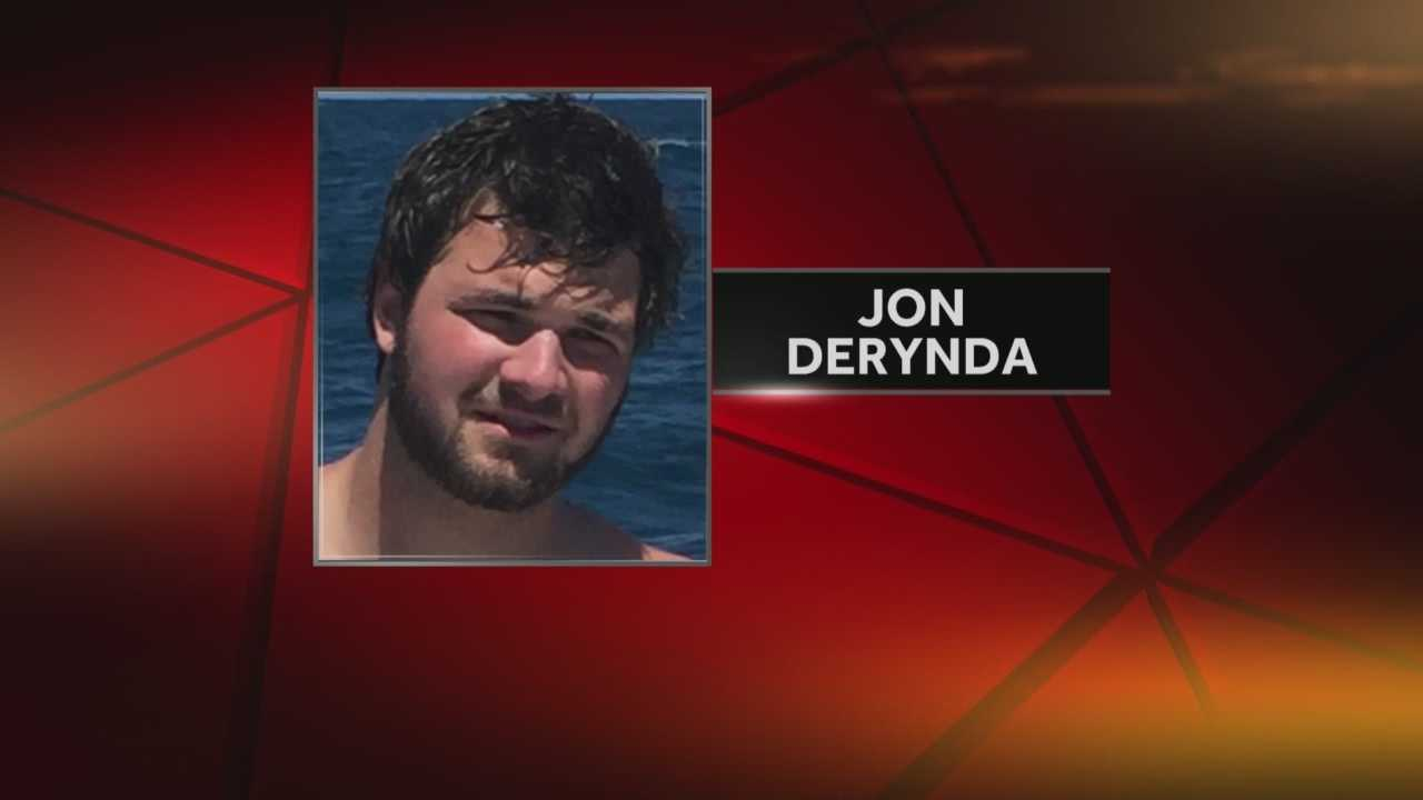 Family identifies the victim as 20-year-old Jon Derynda