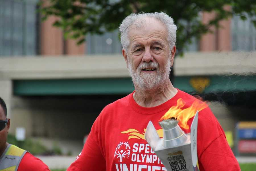 Anyone could raise money and sign up to carry the torch.