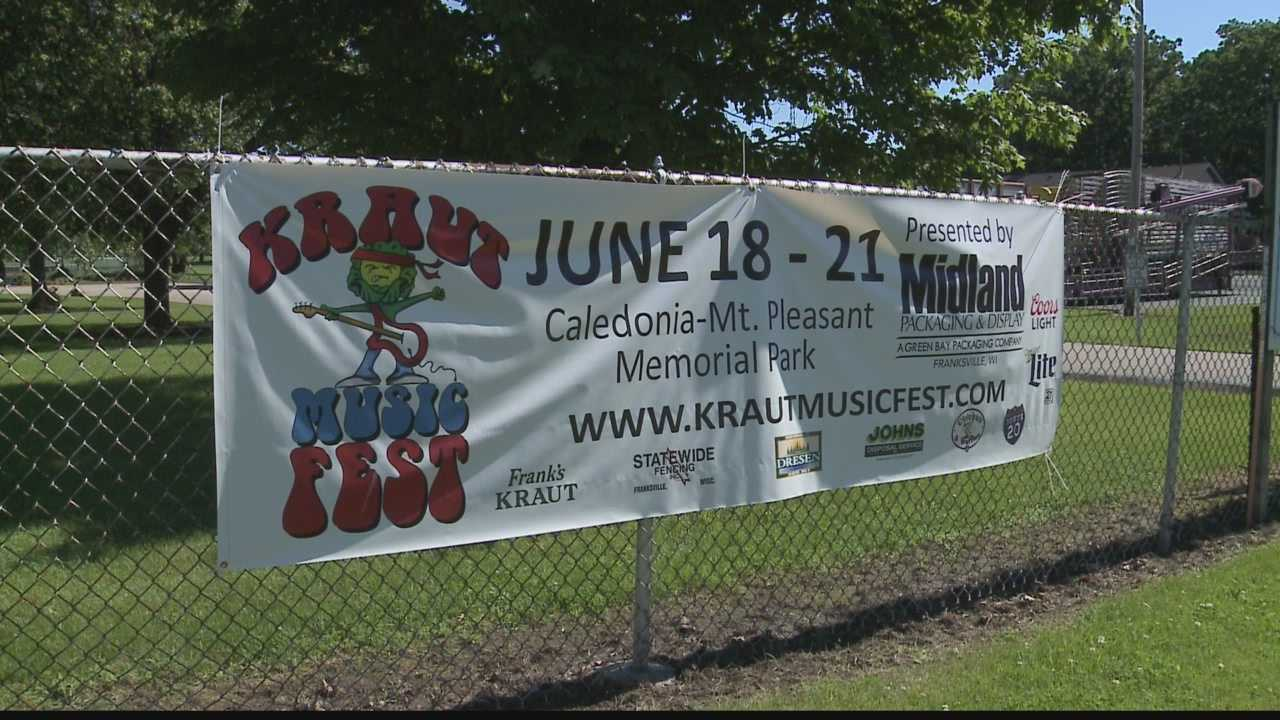 One man is heading the effort to bring Kraut Fest back to Racine County with a music spin