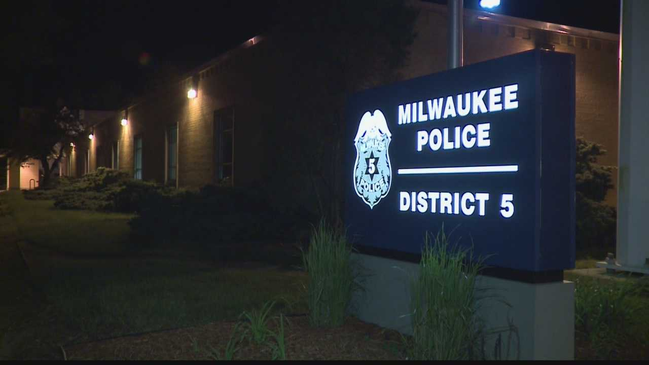 A caller Tuesday night threatened to 'blow up' the District Five police station in Milwaukee.