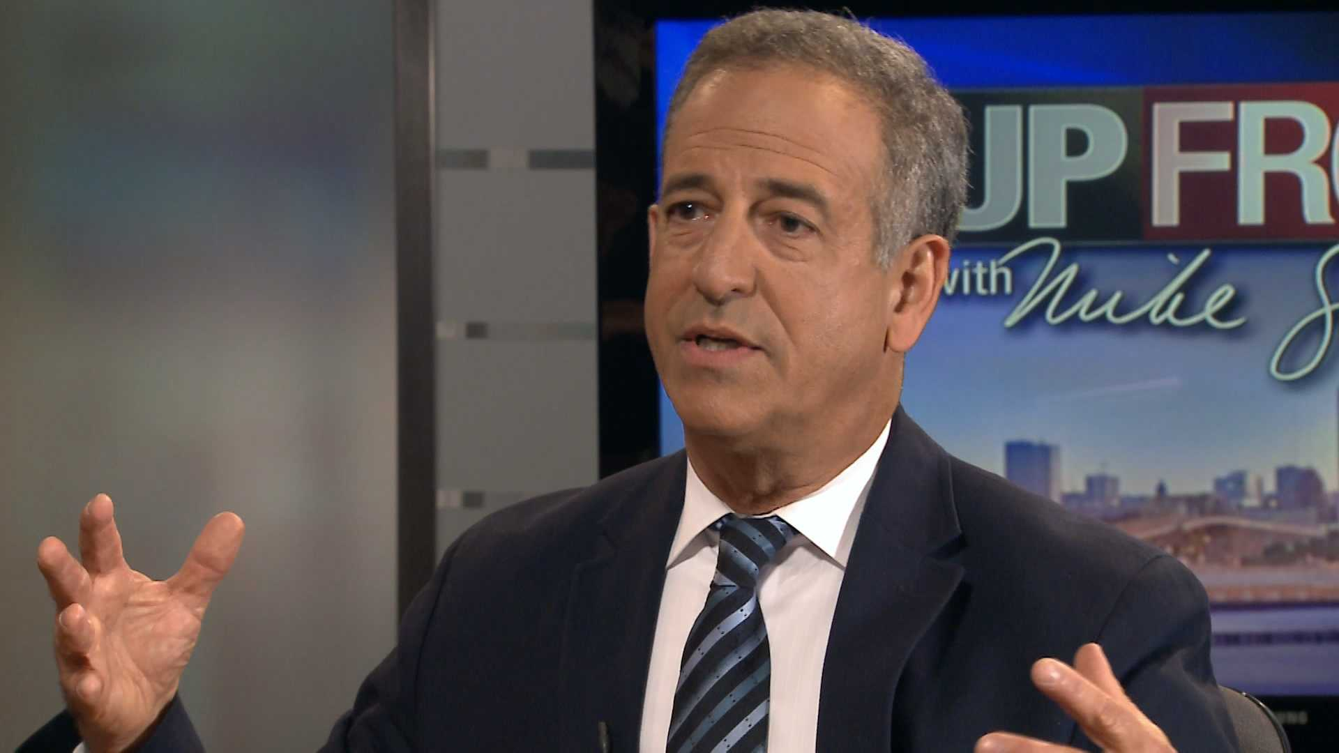 "Democrat Russ Feingold calls for Republican U.S. Sen. Ron Johnson to sign his ""Badger Pledge,"" to keep special interest money out of their race."