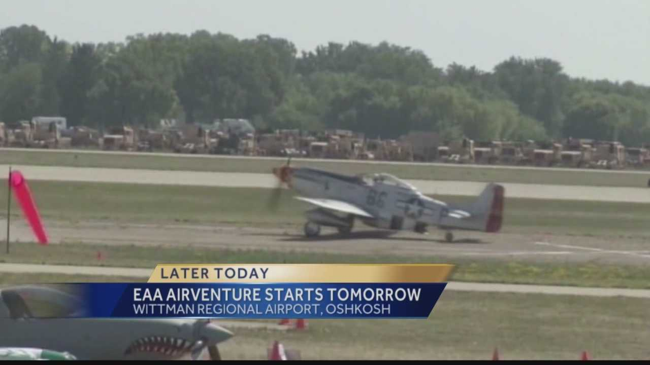 The world's largest aviation gathering is about to begin in Oshkosh this week.