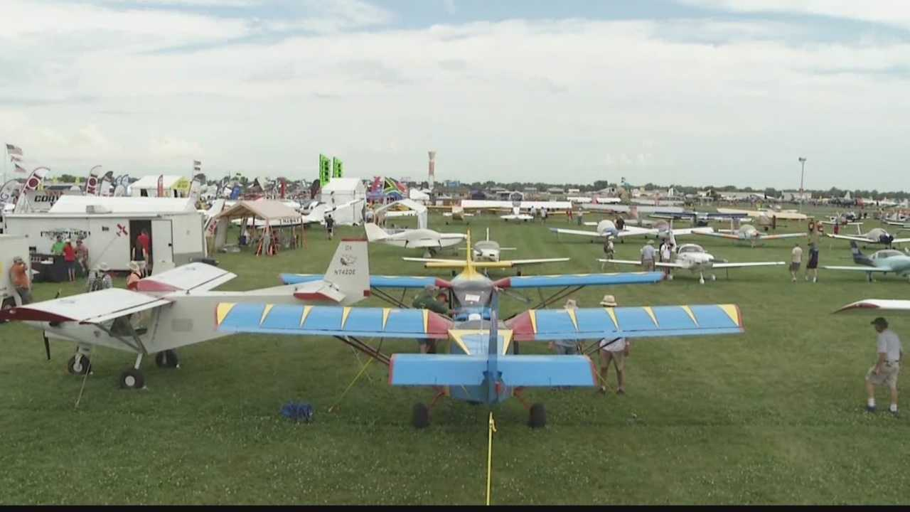 The EAA's AirVenture brings thousands of planes and enthusiasts to Wisconsin.