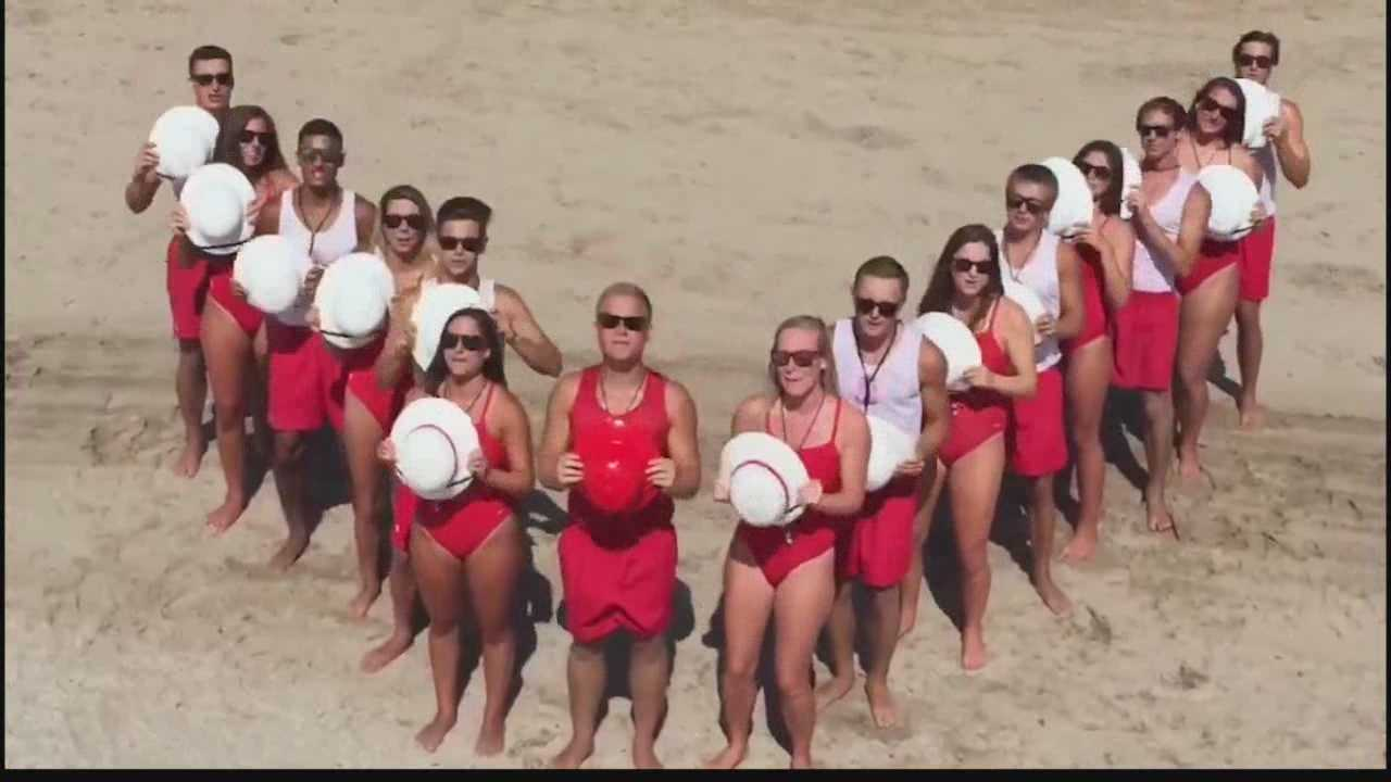 The lifeguards have entered GMA's  nationwide Surf and Turf Showdown contest and need votes to get them to New York