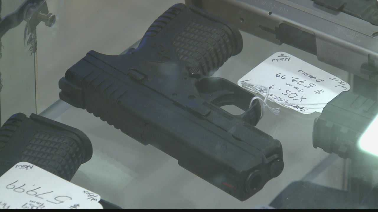 Local gun shops say they've seen a recent spike in business