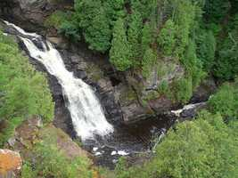 Big Manitou Falls. Superior