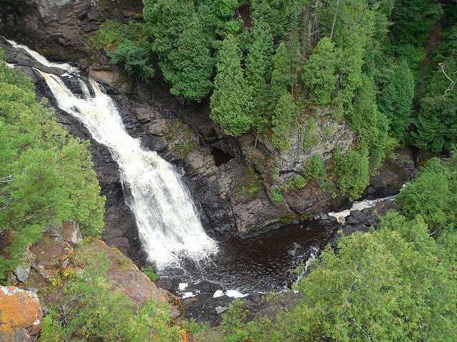 Big Manitou Falls. Superior